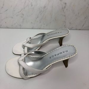Y2K White Kitten Heel